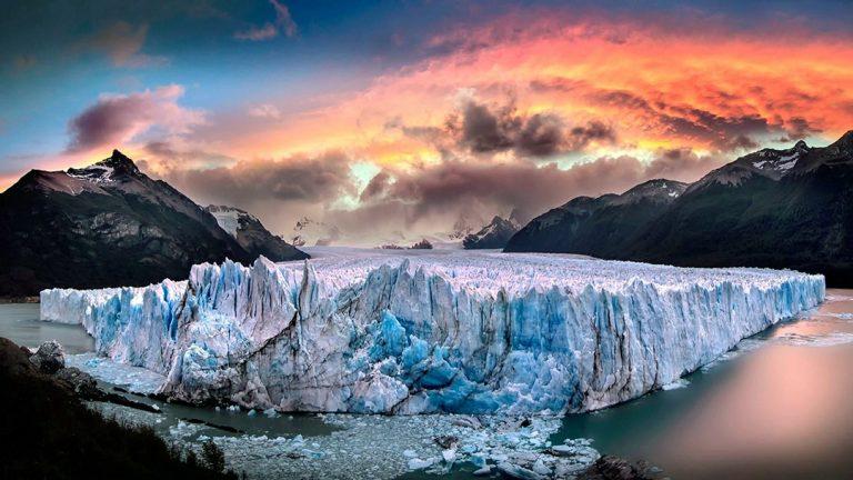 The majestic Perito Moreno Glacier